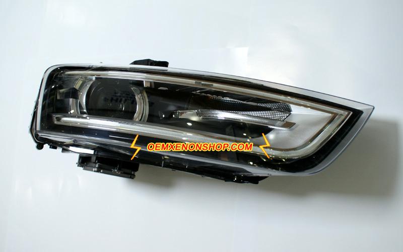 audi q3 xenon headlight oem hid d3s ballast bulb control