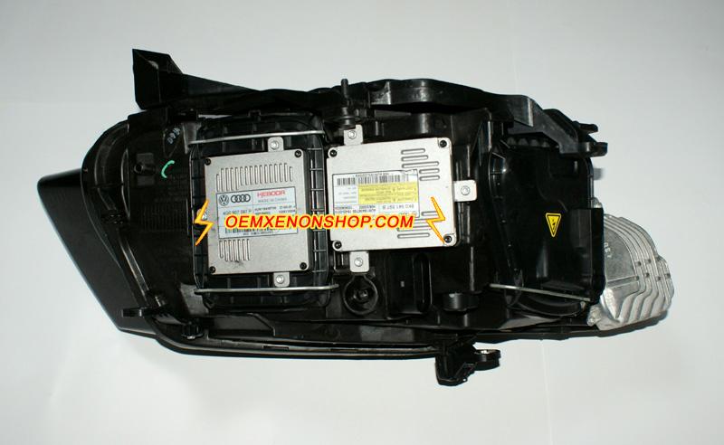 Audi Q5 Xenon Headlight Problem Ballast Bulb Drl Control