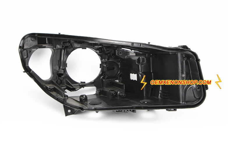BMW 5Series F07 GT Headlight Black Back Plastic Body Housing Replacement