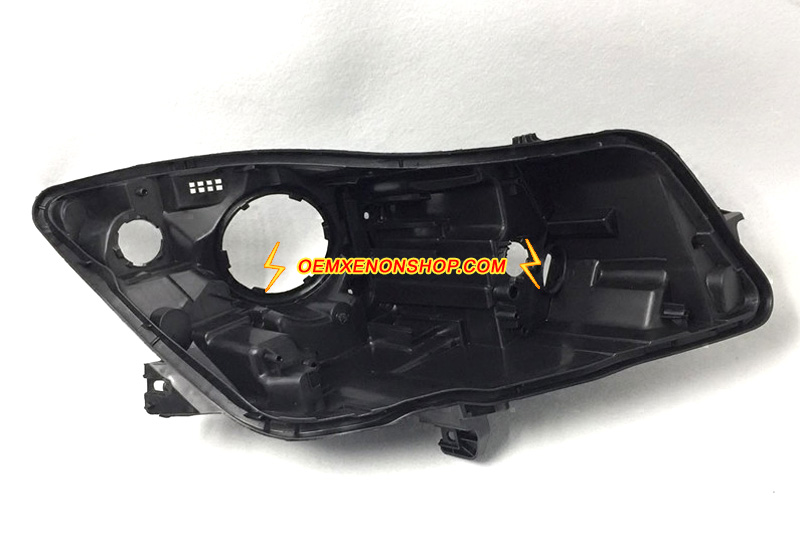 Buick Regal Insignia Xenon Headlight Black Back Plastic Body Housing Replacement