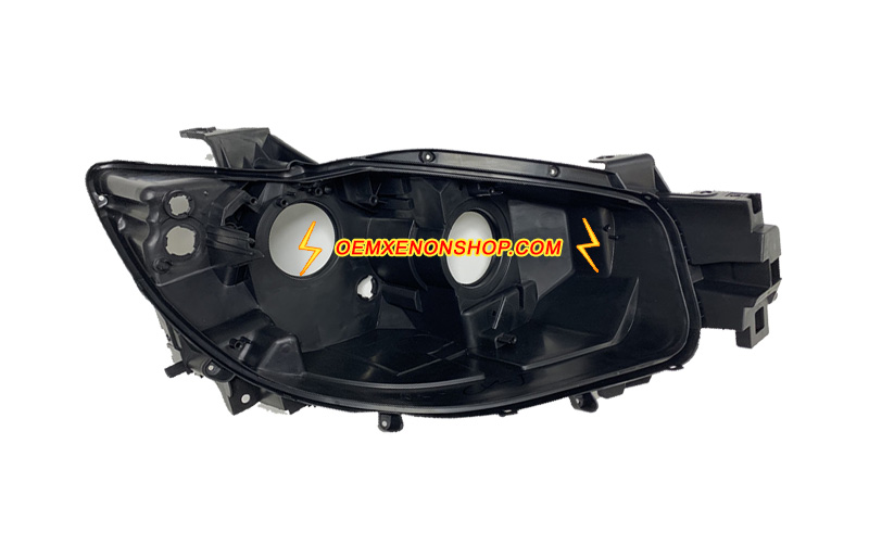 Mazda CX-5 Headlight Black Back Plastic Body Housing Replacement