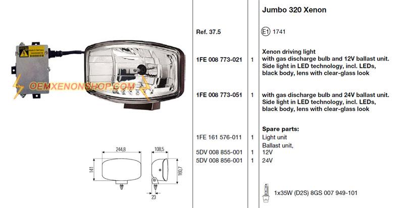 jumbo 320 xenon. Black Bedroom Furniture Sets. Home Design Ideas