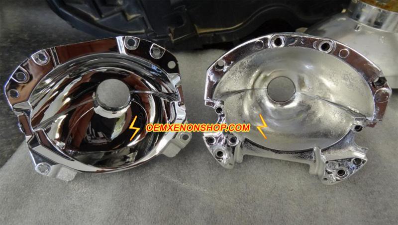 How To Repair Car Headlight Reflector
