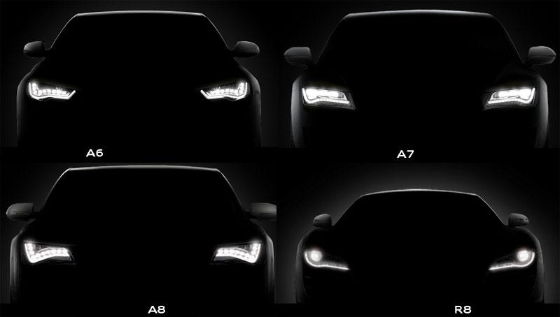 Audi A7 Original Led Headlamp Drl Control Unit Ballast 4g0907397d
