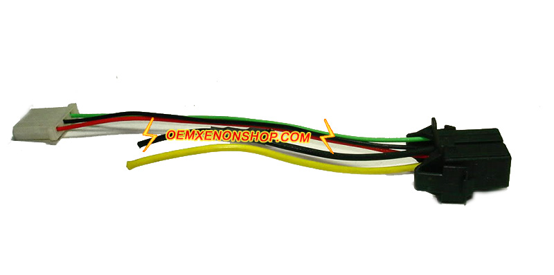AL Bosch D2S D2R Ballast To Igniter Wires al bosch xenon hid d2s d2r ballast to igniter socket bulb cable Wire Harness Assembly at et-consult.org