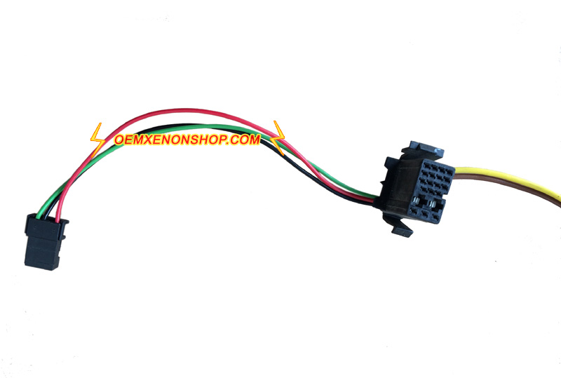 audi a3 s3 oem headlight hid xenon ballast control unit to d2s igniter bulb  cable wires