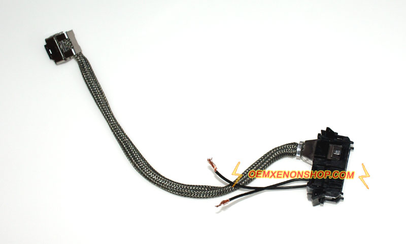 BMW 1Series E82 Headlight Xenon HID Ballast To D3S Bulb Wires Cable bmw 1 series e81 e82 e87 e88 xenon headlight oem hid ballast bulb bmw e82 wiring diagrams at aneh.co