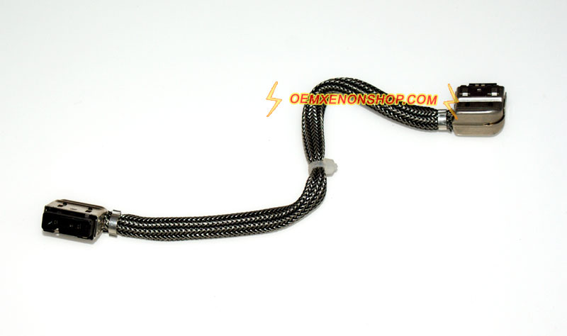 BMW M3 E90 E92 E93 Headlight Xenon Ballast To D1S Bulb Xenon Wire Connector bmw m3 e90 e92 e93 xenon headlight original ballast bulb replace Volvo 240 Wiring Harness Routing at soozxer.org