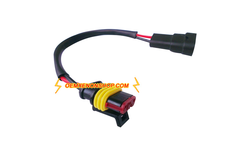 Buick Lacrosse Headlight HID Xenon Ballast 12V Input Cable Wires