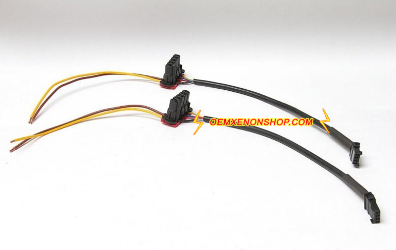 Hella 5DV00829000 Xenon Ballast To Bulb Wire Harness Cable hella oem xenon headlight hid ballast to igniter cable plug wiring