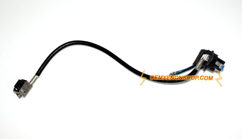 hella xenon hid d1s ballast to bulb cable wiring harness cord oem hella 5dv 009 000 00 xenon hid d1s ballast wiring harness cord cable plug
