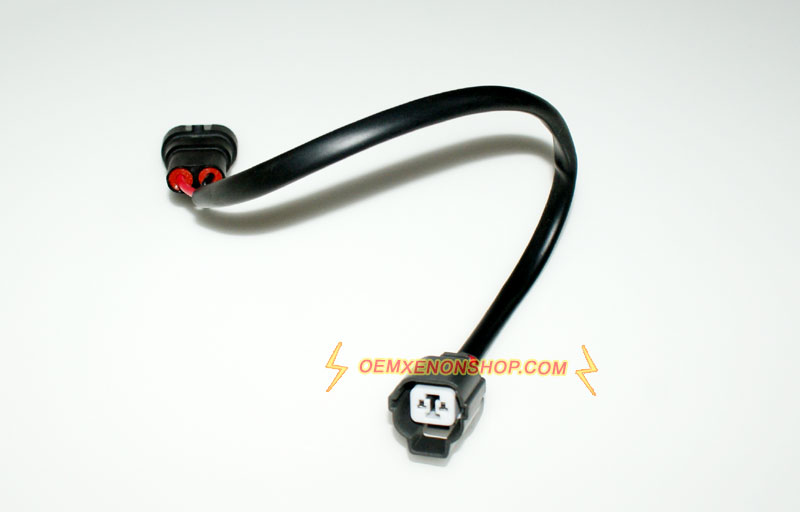 Mazda 3 Headlight D2S Ballast 12V Input Wires Cable mazda 3 axela xenon headlight problem ballast bulb oem hid replace Mazda 3 Headlight Replacement Diagram at mifinder.co