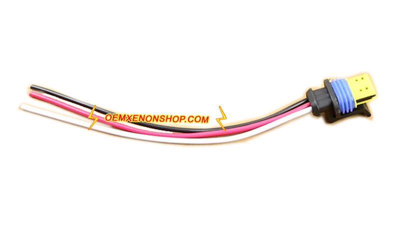 Osram Xenon HID D1S D3S Ballast Cable Wiring Harness Cord ... on