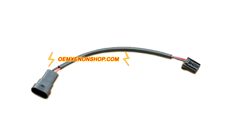 VW CC New Beetle Headlight D3S Ballast 12V Input Wires Cable volkswagen vw cc oem hid xenon headlight d3s ballast led drl bulb Dune Buggy Wiring Harness Kit at mifinder.co
