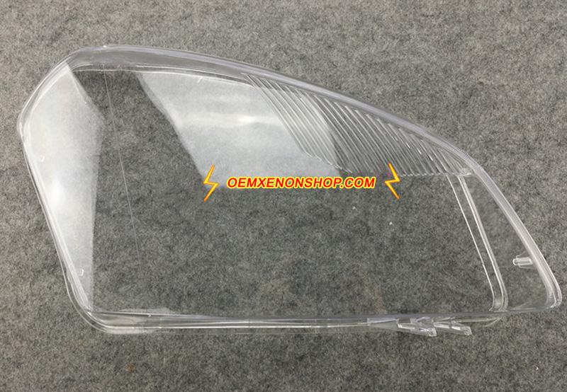Nissan Qashqai Replacement Headlight Lens Shell Cover Plastic Lenses Glasses