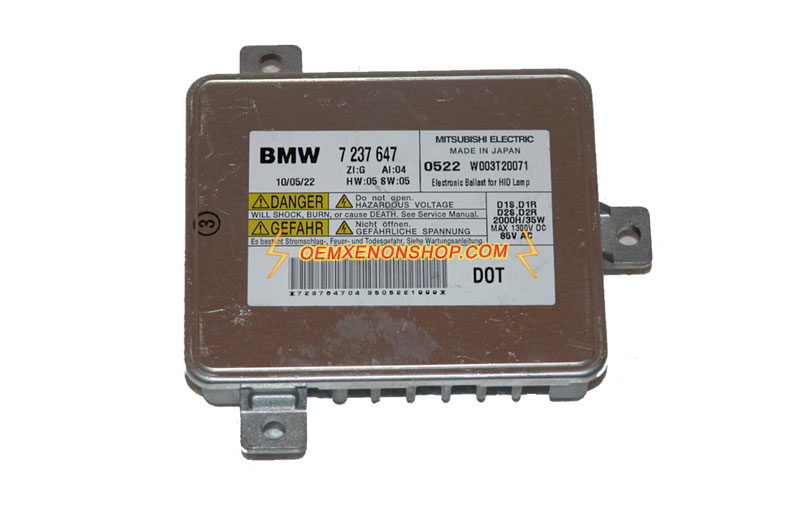 Bmw X3 F25 Genuine Xenon Headlight Not Working Oem Ballast