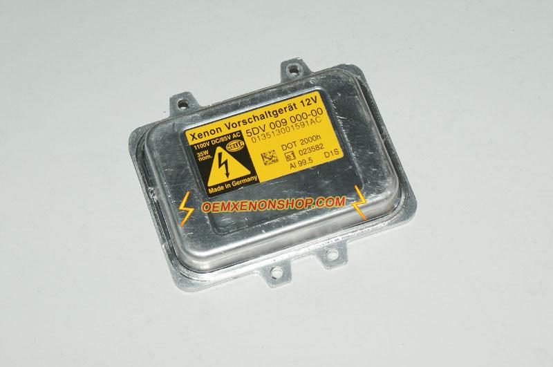 Citroen C4 Picasso Xenon Headlight Ballast Bulb Control Unit Change