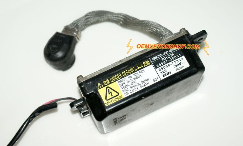 Ballast Fit for GS300 GS400 GS430,9-16V D2S Xenon Ballast Igniter Refit OE:DDLT002