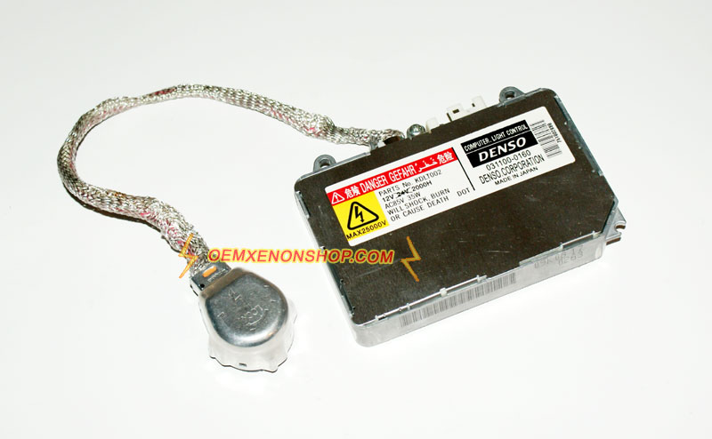 Toyota Corolla Original HID Xenon Headlight Problems Ballast