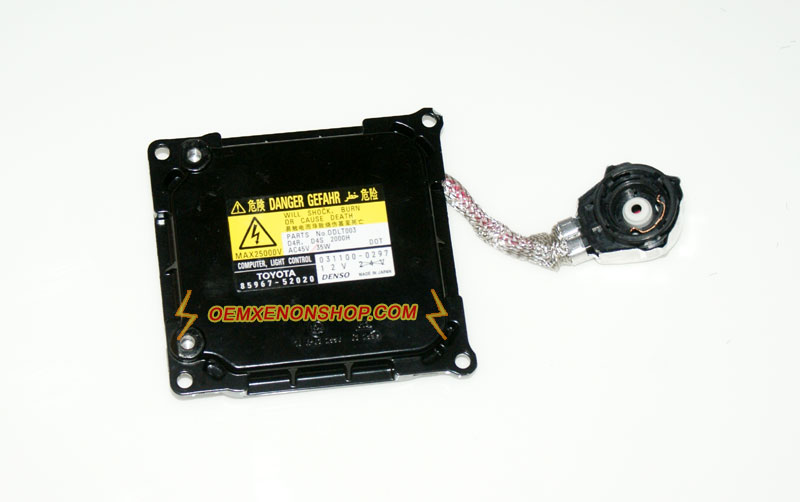Toyota Ractis Xenon Headlight Not Working Ballast Bulb